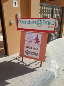 Entrance op Smile 1 225x300 - Bargain Books at Smile Cafe