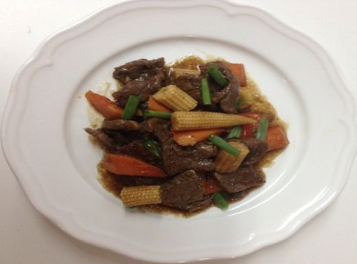 Georgette Stir Fry RHWAD - Georgette's Szechwan Beef Stir Fry