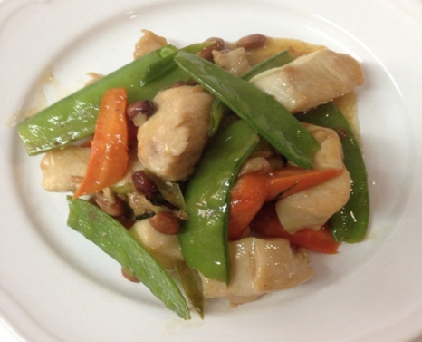 Georgettes Chicken Stir Fry - Georgette's Thai Chicken Stir Fry
