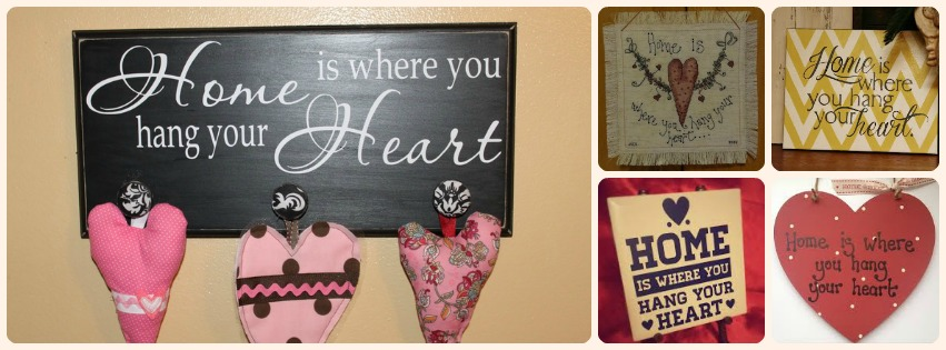 Home is where you hang your heart - HOME