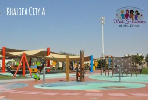 Khalifa City A Park 300x203 - Playground Fun in Khalifa City A
