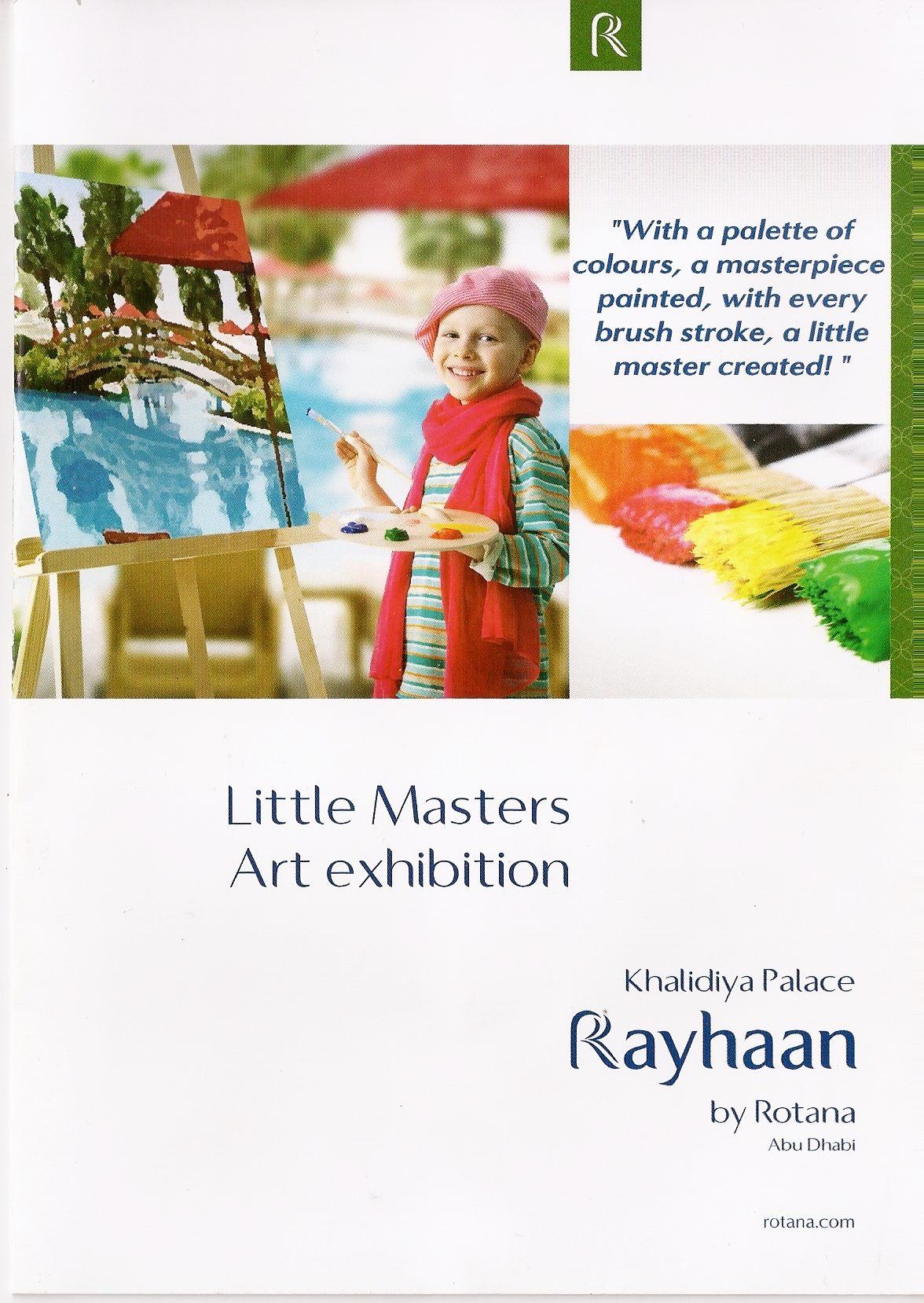 Little Masters Art Exhibition
