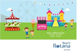 Make A Difference Day 2015 Beach Rotana 300x203 - Fiesta Fun Fair to Make a Difference