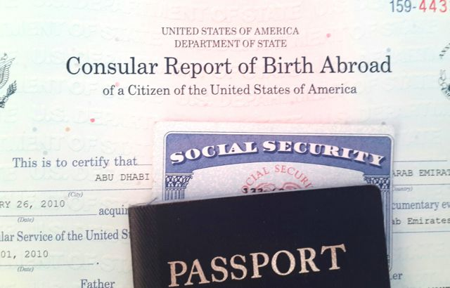 Reporting A Birth Abroad – US Citizens