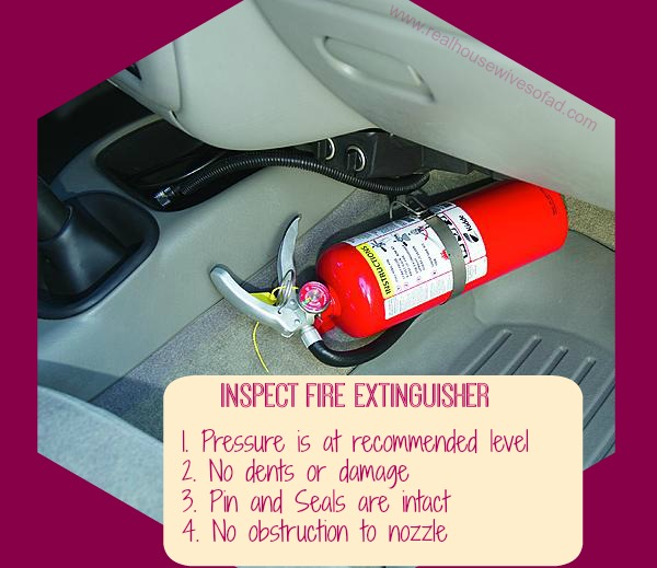 RHWAD Fire Extinguisher - Is Your Car Ready for This Heat?