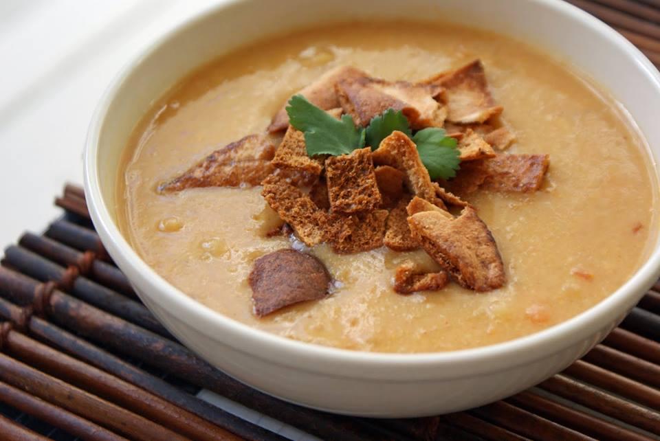 """RHWAD Lentil Soup 3 - Maei's Lentil Soup """"Shorbet Adas"""""""
