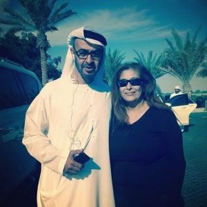 RHWAD Sheikh Mohamed bin Zayed 300x300 - Meet Nouvriet Boutros - Spotlight Lady May 2014