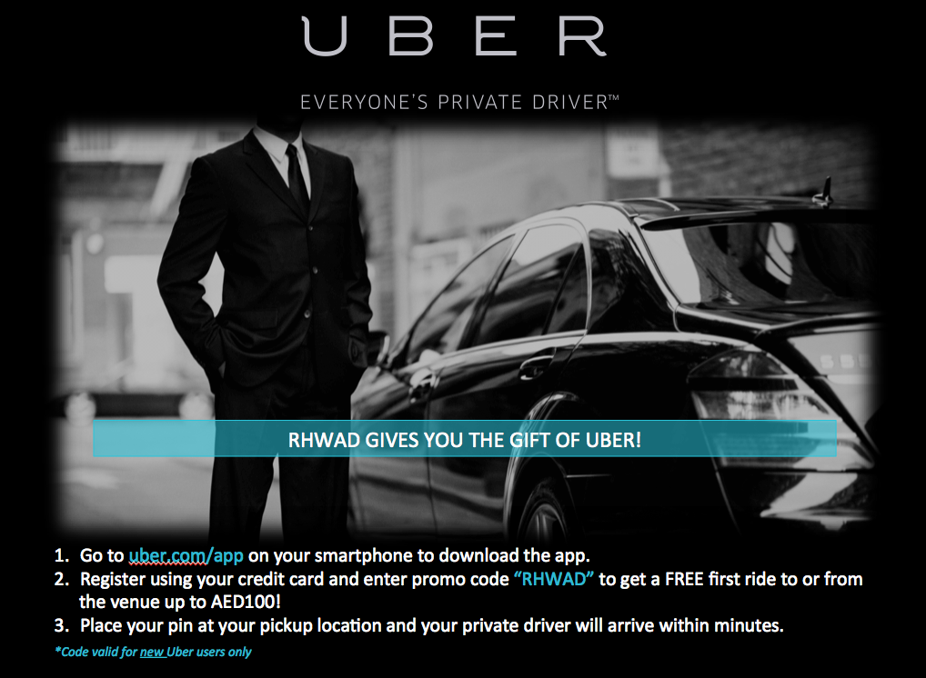 Out and About with UBER