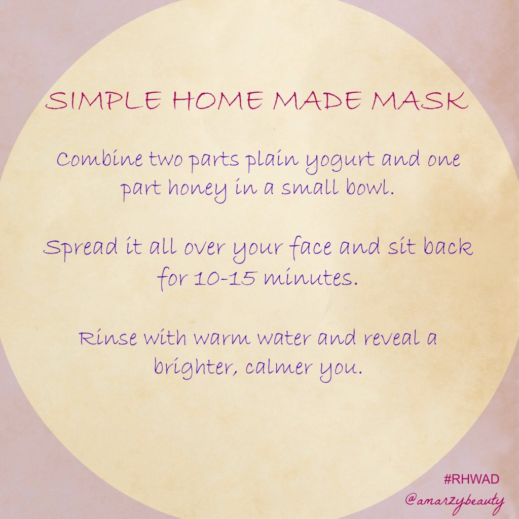 RHWAD mask 1024x1024 - Marzia's Top Tips: Get Ready for Spring