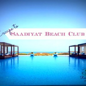 Saadiyat Beach Club 300x300 - Escape to Saadiyat Beach Club