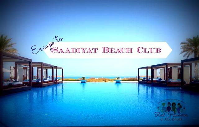 Escape to Saadiyat Beach Club
