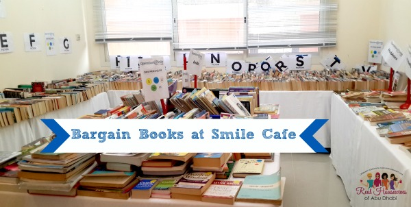 Bargain Books at Smile Cafe