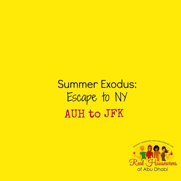 Summer Exodus: Escape to New York