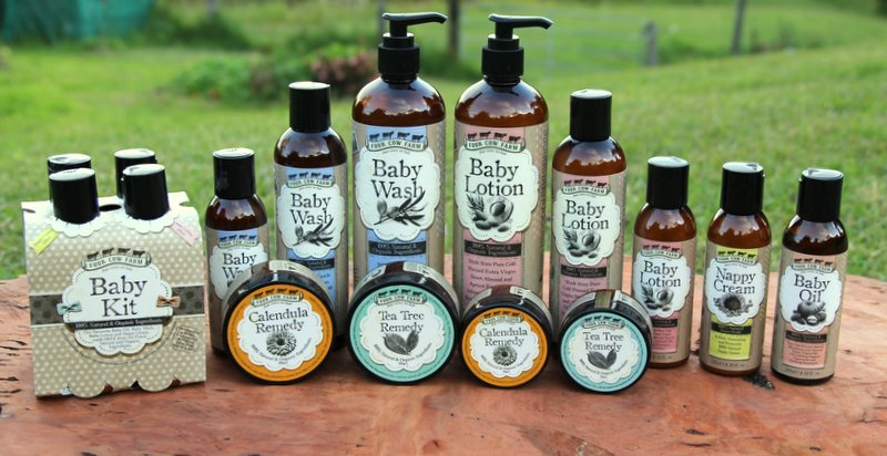 Four Cows, No Bull – Organic Baby Products for the Family