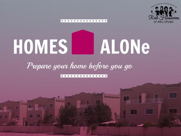 HOMES ALONE