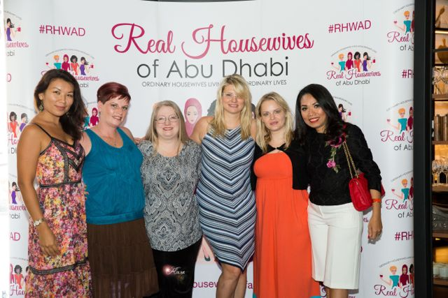 Housewives Abu Dhabi 762 - Happy Huggy Housewives