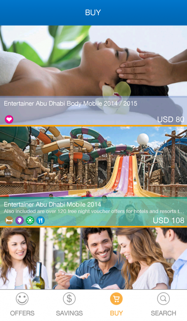 Entertainer Abu Dhabi App – Easy to Use!